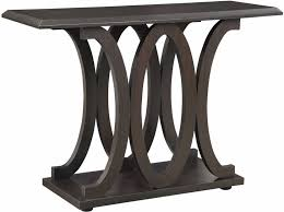 Contemporary Sofa Tables Table In Wenge Finish O Intended Concept Design