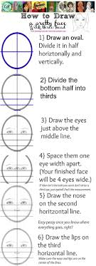 how to draw  to draw and draw on pinteresthow to diagram a proportioned face  part     if you have tutorial requests