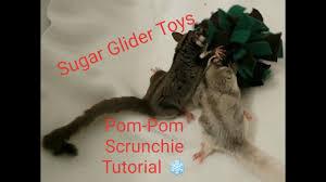 sugar glider toys pom pom squiggie tutorial