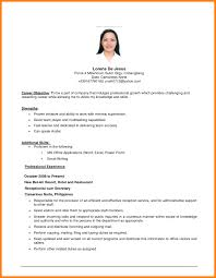 Examples Of Resumes Sample Objective Statements For Samples With ...