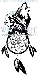 Dream Catcher Tattoo Stencils Wolven Dreamcatcher Tattoo by WildSpiritWolf on DeviantArt 21
