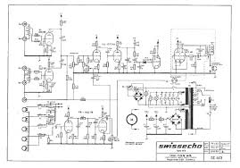 swissecho 463 echo unit schematic uniton drawn return to selmer amplifiers wiring schematics
