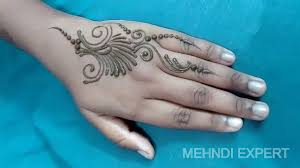Small Picture easy small and beautiful mehndi design patch or tattoo YouTube
