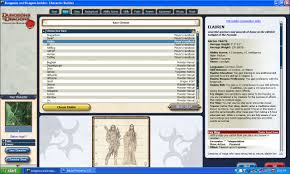 dungeons and dragons character sheet online hands on d di character generator beta critical hits