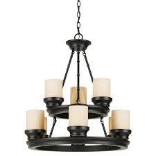 trans globe 3369 rob hunters 9 light chandelier in rubbed