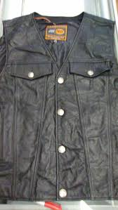 first classics leather mc vest 4xl