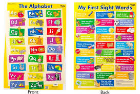 Chart The Alphabet My First Sight Words