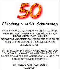 Einladung 50 Geburtstag Lustig Sprüche Einladung 50 Geburtstag