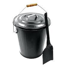 fireplace ash bucket with lid fireplace ash bucket ash bucket amp shovel set black pewter or fireplace ash bucket