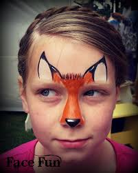 face painting ideas fox best 2018 parties plus birthday kids face painting