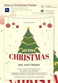 Posters Format Download Holiday Flyer Templates Free Psd