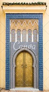 Palace Entrance Design Entrance Door Of The Royal Palace Fez Morocco Photos By