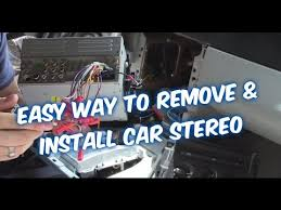how to install a car stereo & connect car radio wiring to amp sub Car Stereo Wiring Diagram at Connections Of A Car Stereo Wiring