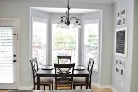 Kitchen Nook Bay Window Treatment Ideas Treatments Windows Eiforces - Bay window in dining room