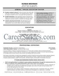 Template Elementary Teacher Resume Examples Httpwww Resumecareer