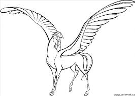 unicorn with wings coloring pages.  Unicorn Collection Of Unicorn Pegasus Coloring Pages  Download Them And Try To  Solve Inside With Wings Coloring Pages G