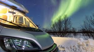 Camper Lights Diy Iceland Northern Lights Tour By Campervan Camping Iceland