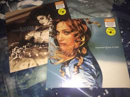 Madonna Ray Of Light Vinyl Clear Popsike Com Madonna Ray Of Light Blue Vinyl Like A
