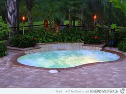 Backyard Pool Designs For Small Yards Magnificent 48 Great Small Swimming Pools Ideas Home Design Lover