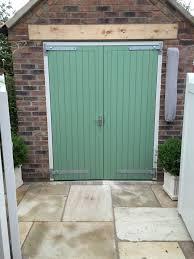 joiner made pine garage doors for uk
