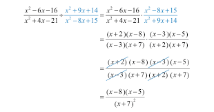 dividing rational expressions