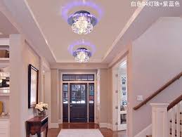 3w hallway light crystal ceiling light fixture with beautiful lighting shadow guaranteed ac220v ac240v100 free in ceiling lights from lights