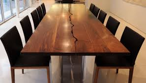 modern wood furniture. Live Edge Dining Room Table Inspirational Modern Wood Furniture Ideas 14 Chairs For