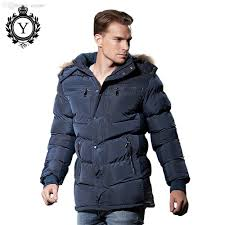 2019 fall coutudi stylish winter jacket mens 2016 hot popular dark blue polyester thick long style er jacket fur hoody down coat from caojue