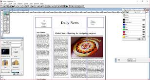 Page Maker Design Images General Coding Pagemaker Designing Newspaper