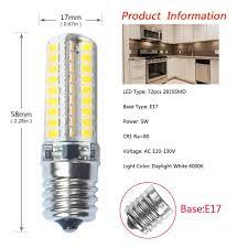Appliance Light Bulb Microwave Ikai E17 Led Bulb Microwave Oven Appliance Light Dimmable 5