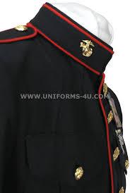 Usmc Dress Blues Size Chart Usmc Enlisted Dress Blue Uniform