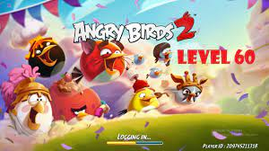 How to clear level 60 (boss) of Angry Birds 2 - YouTube