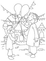 Celebrating Eid Coloring Page Download Free Celebrating Eid