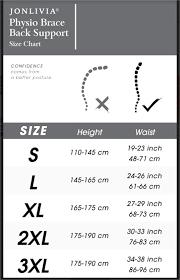 Jonlivia Unisex Physio Braces Back Supporting Posture Correcting Brace Black