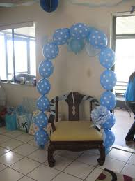 Baby Shower Chair Decoration