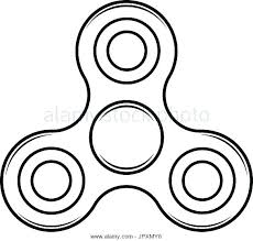 Fidget Spinner Coloring Pages Black And White Colouring To Print