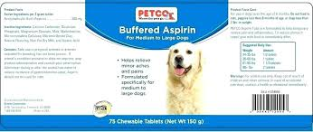 Baby Aspirin Dosage For Dogs Ellaremodeling Co