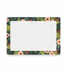 jardin weekly desk planner with tear off sheets