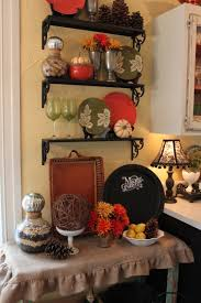 Fall Kitchen Decorating Opulent Cottage My Fall 2012 Kitchen Shelf Vignette