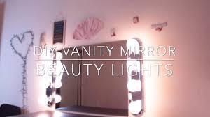 Vanity Mirror Lights Home Depot Diy Vanity Mirror With Lights Zmeliisabeauty