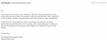 Resume Rejection Letter Employer Resume Rejection Letter