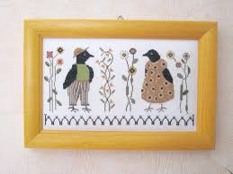 Ira Ray et Ida Mae Crow de The Goode Huswife... | Cross stitch gallery,  Cross stitch samplers, Cross stitch