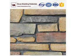 faux cement exterior wall decoration brick stone veneer