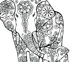 Free Elephant Coloring Pages Free Elephant Coloring Page Animals