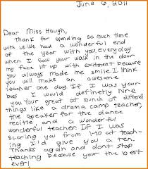 Teaching Students To Write A Thank You Letter