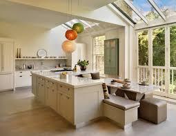 ... Kitchen, Kitchen Ideas Wonderful Open Views Modern Kitchen Designs Also  Kitchen Islands With Seating Bench ...