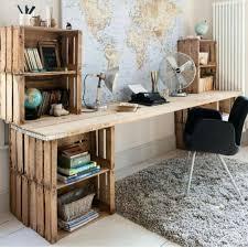 cheap home office. Old Wooden Crates Diy Desk Home Office Best 25 Cheap Ideas On Pinterest Kitchen Craft Closet And Desks Design 4 G