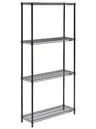 12 inch depth floating shelf black wire shelving unit x h rustic book