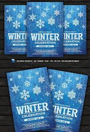 Winter Flyer Template Winter Celebration Flyer – Palaeos Flyers