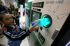 Reverse Vending Machine Recycling Delectable Reverse' Vending Machine Sells Idea Of RecyclingSocietychinadaily